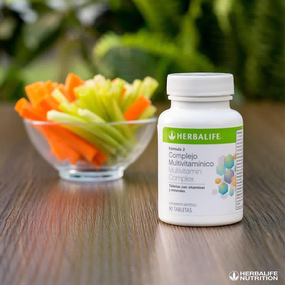 Dieta Saludable con Herbalife complejo multivitamínico