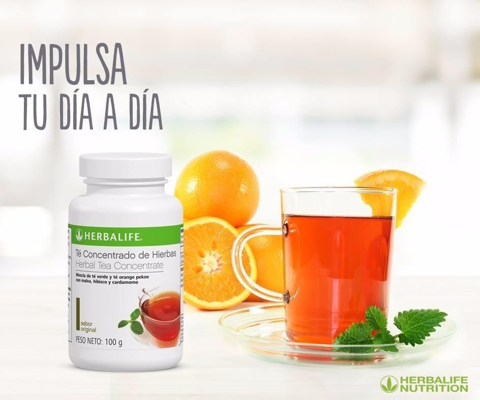 Dieta Saludable con Herbalife concentrado de hierbas te